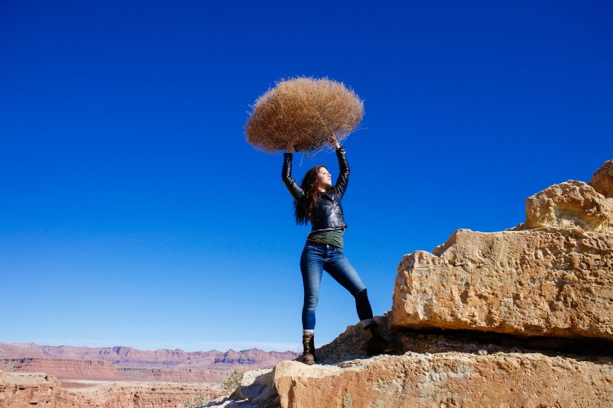Is there money in your backyard? Prosperity and Tumbleweeds