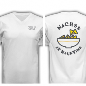 Shirt: Nachos at Halftime