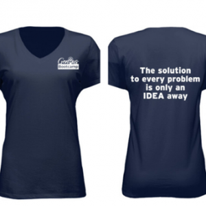 Shirt: The Solution to Every Problem – Ladies
