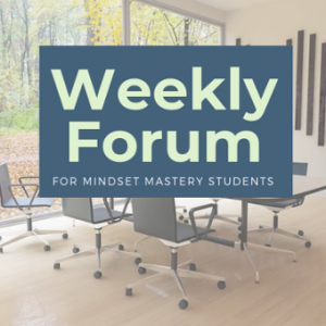 Weekly Forum