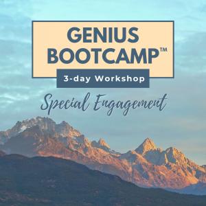 Genius Bootcamp ™ Special Engagement