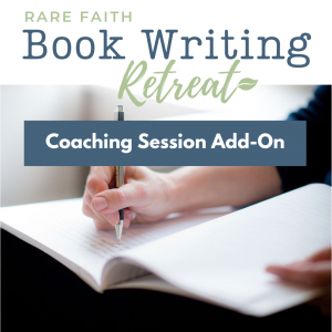 Book Writing Retreat Coaching Session Add-on
