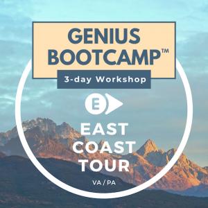 Genius Bootcamp® LIVE – East Coast Tour!